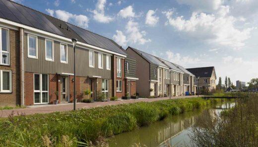 Rijswijk-Buiten sloot in wijk
