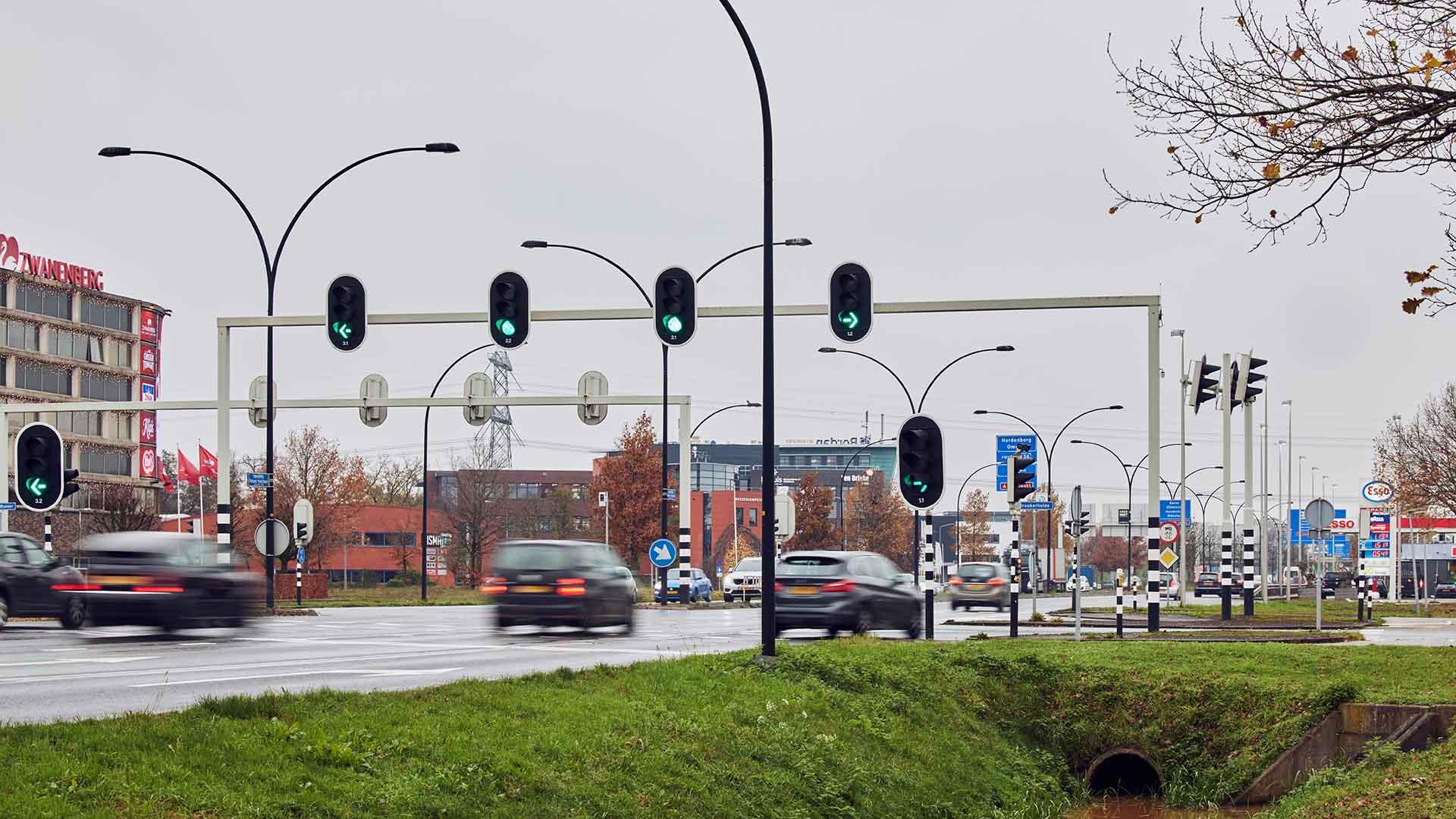 Smart Traffic op Ringweg van Almelo