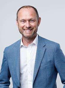 Afdelingshoofd Bert Debie