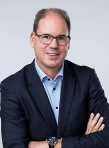 Afdelingshoofd Erwin van Klaveren