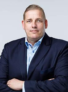 Afdelingshoofd Peter van Ossenbruggen