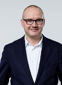 Afdelingshoofd Sander Boekee