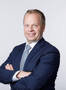 Afdelingshoofd Sander Groot