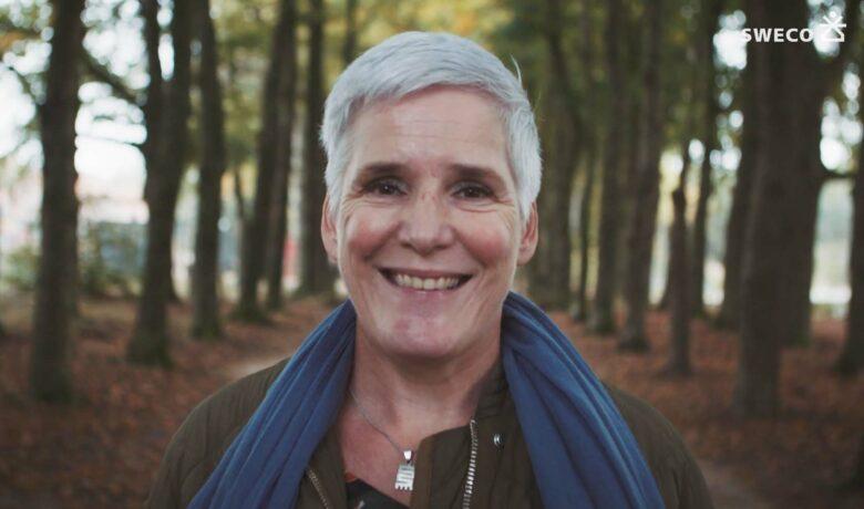 Claudia Swart van Sweco bij Parklaan Ede