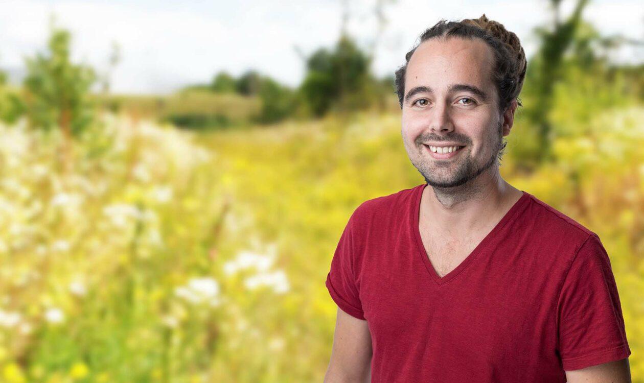 Portret Gijs Meijer adviseur biodiversiteit Sweco
