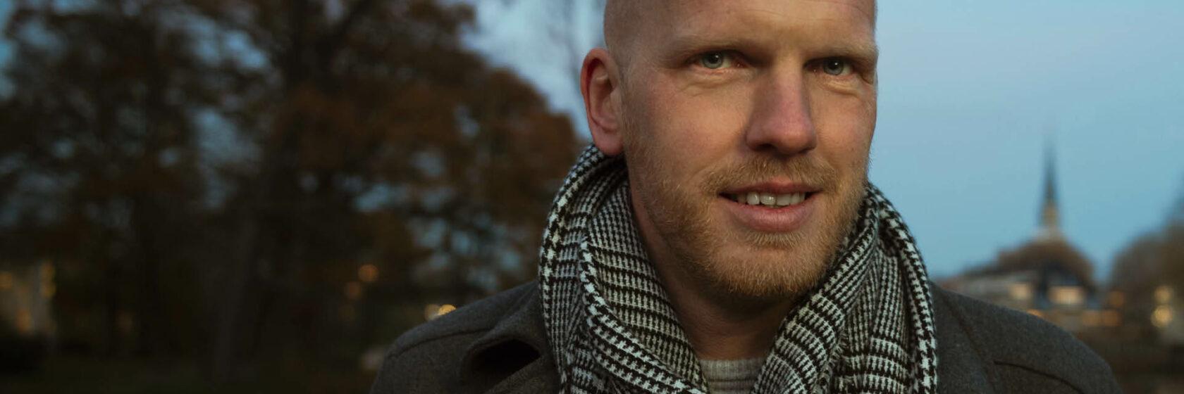 Sweco adviseur Thomas Braaksma in Stedelijke omgeving