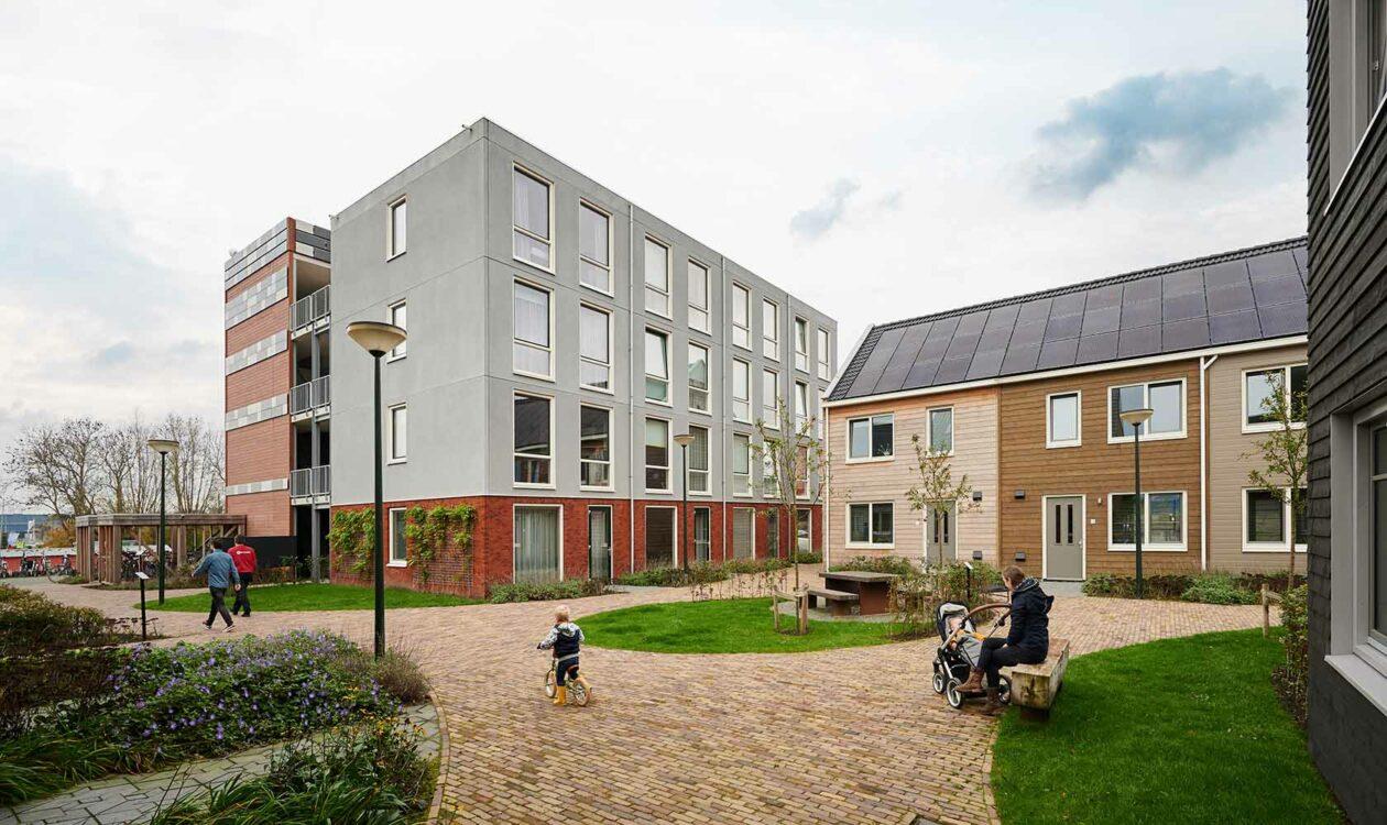 Duurzame woonwijk Loskade Groningen