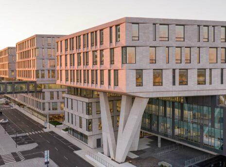 Mooi bouwkundig project, opvallende constructie in Denemarken