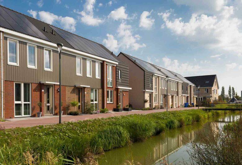 Duurzame woonwijk met veel groen en water