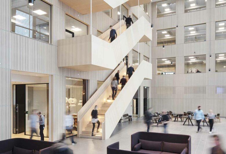 Atrium kantoor Sweco