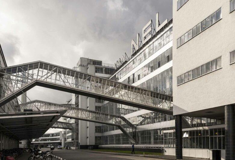 Van Nelle fabriek in Rotterdam is prachtig industrieel gebouw