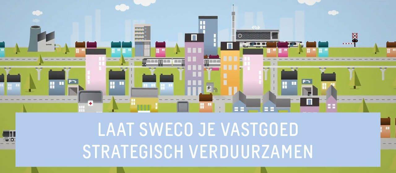 Thumbnail van video over verduurzamen van vastgoed door Sweco
