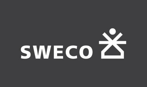 Sweco logo wit