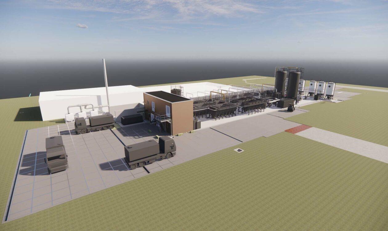 Digitale visualisatie van afvalwaterzuiverinsinstallatie Chemours