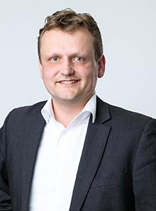 portretfoto Henril Veldhuis Afdelingshoofd GIS & ICT Sweco