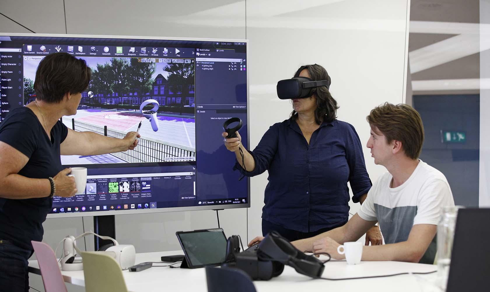 Designers met VR en neurofeedback